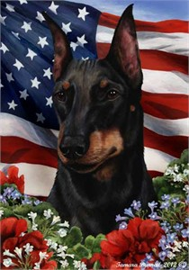 Manchester Terrier House Flag
