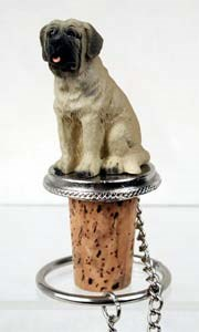 Mastiff Bottle Stopper