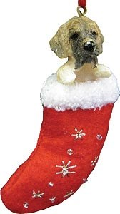 Mastiff Christmas Stocking Ornament