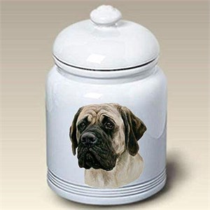 Mastiff Treat Jar