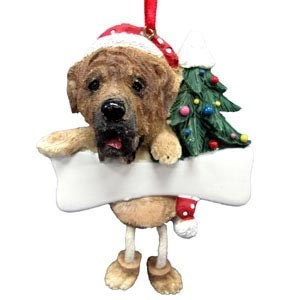 Mastiff Christmas Tree Ornament - Personalize