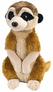 Realistic Meerkat Plush Stuffed Animal 12""