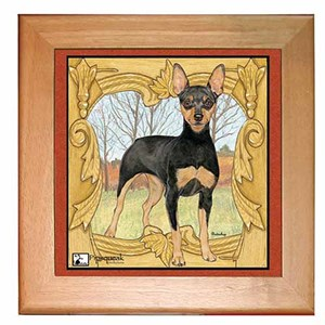 Miniature Pinscher Trivet