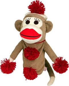 Monkey Made Of Sockies Golf Headcover