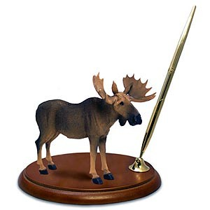 Moose Pen Holder (Bull)
