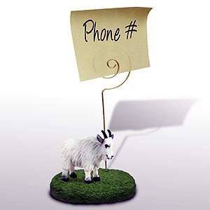 Mountain Goat Note Holder