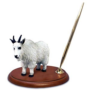 Mountain Goat Pen Holder