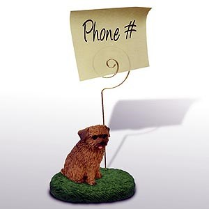 Norfolk Terrier Note Holder