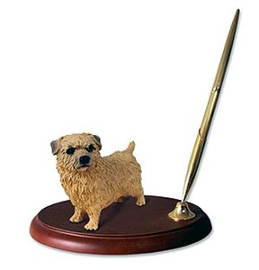 Norfolk Terrier Pen Holder