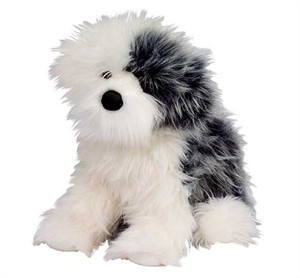 Willard the Old English Sheepdog Plush Stuffed Animal 16""