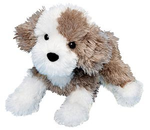 Old English Sheepdog Stuffed Plush Animal
