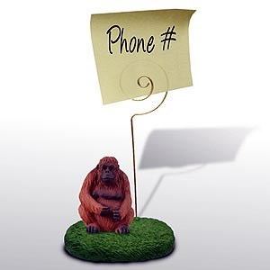 Orangutan Note Holder