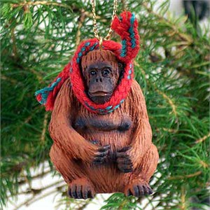 Orangutan Tiny One Christmas Ornament