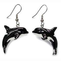 Orca Earrings True to Life