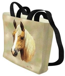 Palomino Horse Tote Bag (Blond)