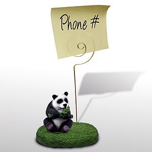 Panda Bear Note Holder