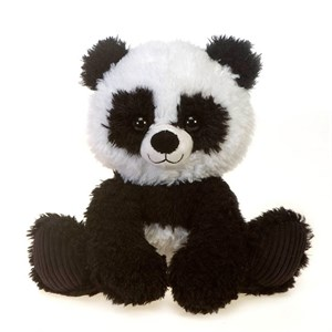 Panda With Baby Plush Stuffed Animal 12""