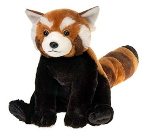 Bean Bag Red Panda Plush Stuffed Animal 10""