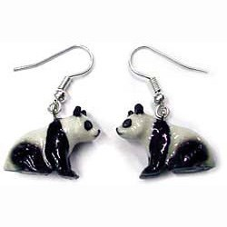 Panda Earrings True to Life