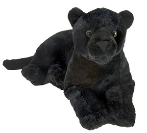 Laydown Panther Plush Stuffed Animal 18.5""