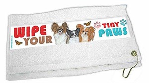 Papillon Paw Wipe Towel