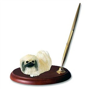 Pekingese Pen Holder