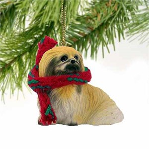 Pekingese Tiny One Christmas Ornament