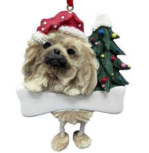 Pekingese Christmas Tree Ornament - Personalize