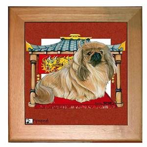 Pekingese Trivet