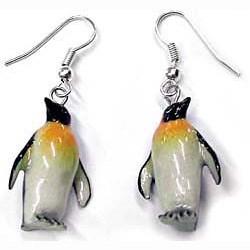 Penguin Earrings True to Life