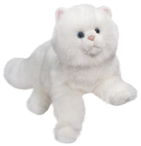 Amir the Persian Cat Plush Stuffed Animal 16""
