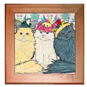 Persian Cat Trivet