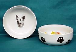 Australian Cattle Dog Dog Bowl