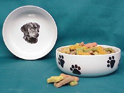 Chesapeake Bay Retriever Dog Bowl