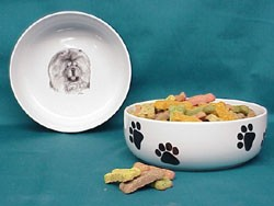 Chow Chow Dog Bowl