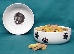 Newfoundland Dog Bowl