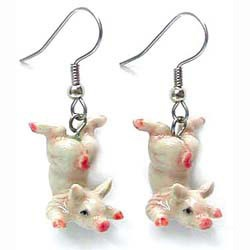 Pig Earrings True to Life