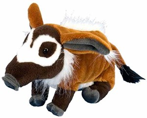 Red River Hog Pig Plush Stuffed Animal 12""