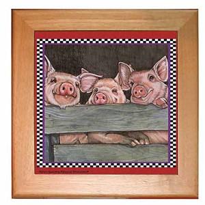 Pig Trivet
