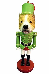Pit Bull Ornament Nutcracker
