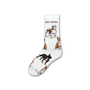 Pit Bull Poses Socks