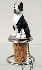 Pit Bull Terrier Bottle Stopper