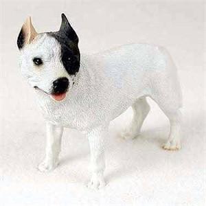 Pit Bull Terrier Figurine White