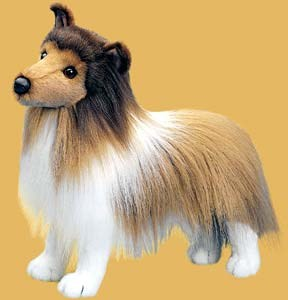 Shetland Sheepdog Plush