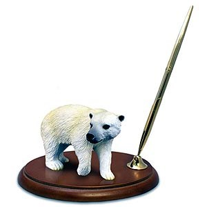 Polar Bear Pen Holder