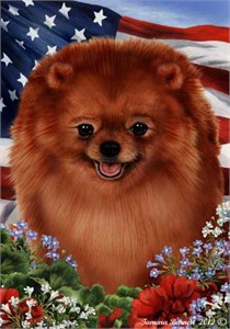 Pomeranian House Flag