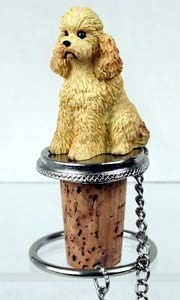 Poodle Bottle Stopper