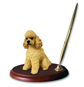 Poodle Pen Holder