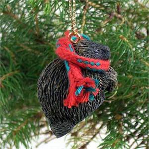 Porcupine Tiny One Christmas Ornament