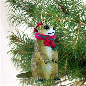 Prairie Dog Tiny One Christmas Ornament
